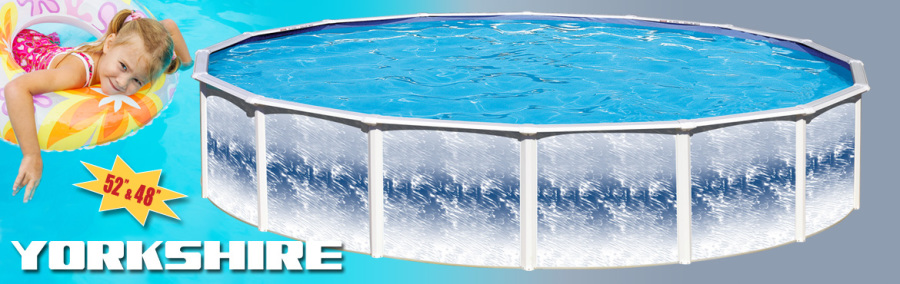 Yorkshire Above Ground Steel Pool The Pool Spa Billiard