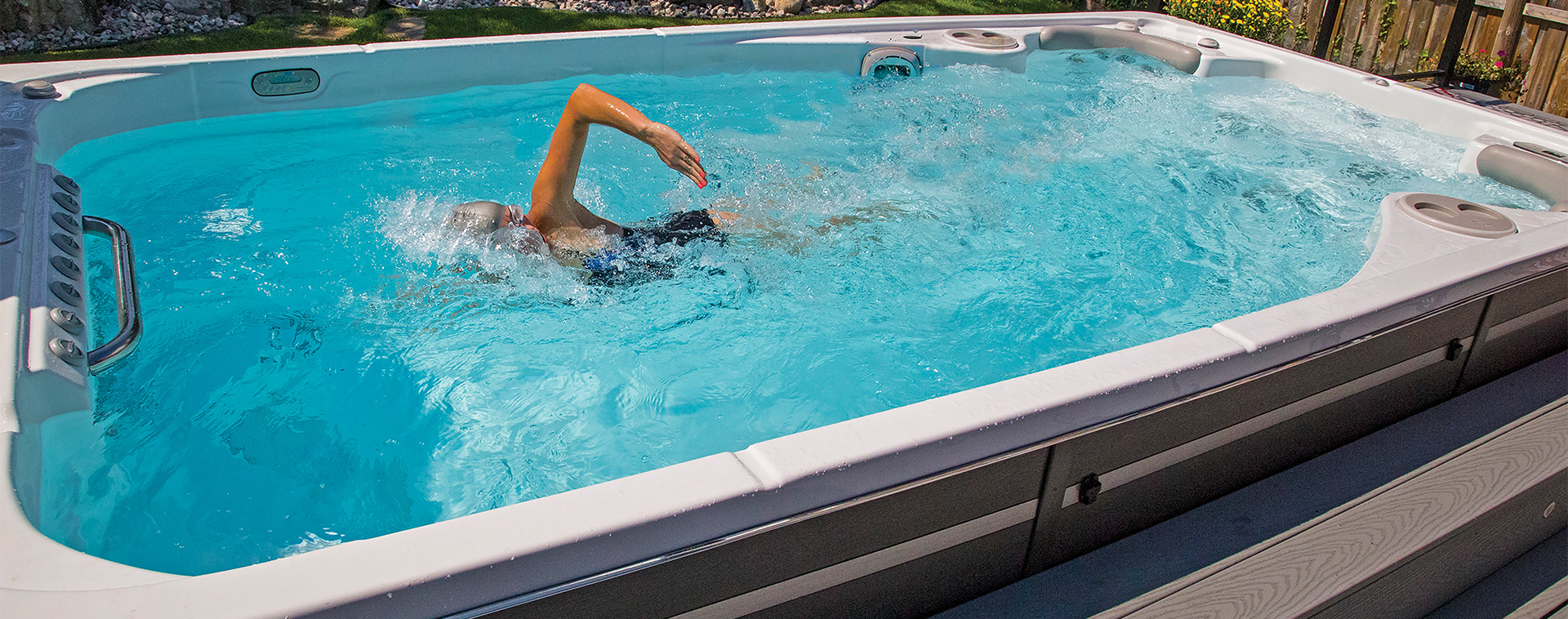 Miami Swim Spas, Hot Tubs | Financing Available | Pool Spa ...